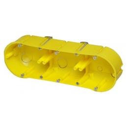 Puszka p/t g-k 3x60mm żółta...